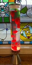 Large Lava Lamp Tallboy Red