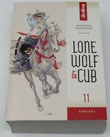 LONE WOLF AND CUB OMNIBUS Volume 11 NEW TPB GN Dark Horse 2016 Samurai Rare
