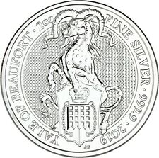 Großbritannien 5 Pfund 2019 The Queen's Beasts Yale von Beaufort Silbermünze
