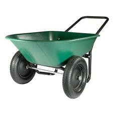 Poly Tray Wheelbarrow Yard Rover Cart Garden Lawn Utility Tool Dump Wagon Tray