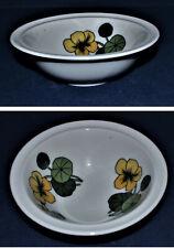 Thomas 4 Dessertschalen Scandic Flowers Kapuzinerkresse Design Baumann +Bengtson