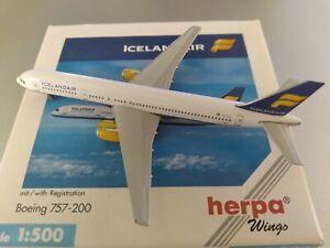 1:500 herpa wings  icelandair 757