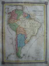 1852 - BARBIE DU BOCAGE - Map SOUTH AMERICA