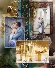 Volume 5 ELEGANT WEDDING PHOTO ALBUM PSD TEMPLATES Photoshop V.5 *