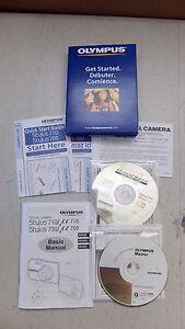 Used manuals on disc for Olympus Digital Camera Stylus 710/700, WIN/MAC w/warra
