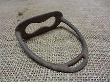 Vintage Cast Iron Stirrup > Antique Old Western Horse Bits Bridles Metal 6934