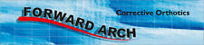 Forward Arch Corrective Orthotics For Healthy Feet, Knees, & Back