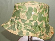 "US Army Vietnam SPECIAL FORCES LRRP SPOT CAMO MULTI-STITCH ""FEDORA"" BUSH HAT Vtg"