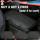 Car Armrest Pad Cover Center Console Box Cushion Protector Accessories Black