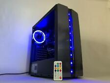 Gaming PC Desktop Computer Intel i5 3.20GHz,8GB,500G,Win10,WIFI,Radeon 7470 1GB