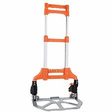 150 lb. Capacity Aluminum Convertible Hand Cart Truck, Folds Down to Just 2