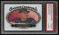 JASSON DOMINGUEZ 2020 UD GOODWIN CHAMPIONS 1ST GRADED 10 ROOKIE CARD RC YANKEES