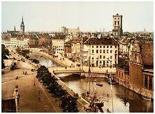 General view Copenhagen Denmark ca. 1890