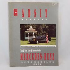 Adsit Company Catalog Mercedes-Benz New and Used Car Parts and Accessories 1990s