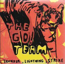 The Go! Team Thunder, Lightning, Strike Promo in card slip sleeve UK CD