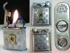 Briquet Ancien - VUCALNO militaire type Drago - Lighter Feuerzeug Accendino