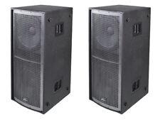 """Peavey (2) Qw218 Pro Audio Passive Sub 6400W Dual 18"""" Arena Subwoofer Pair New"""