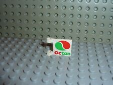 Drapeau LEGO flag with OCTAN pattern ref 2335px13 / Set 6548 6616 4176 6426