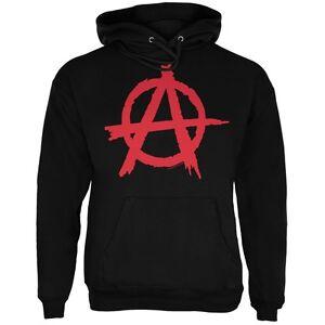 Anarchy Black Adult Hoodie