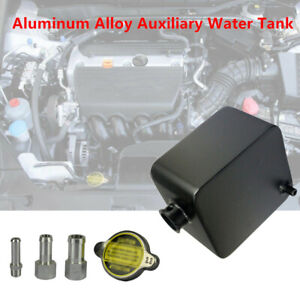 Car Heat Dissipation Cooling Ventilation Kettle Aluminum Auxiliary Water Tank