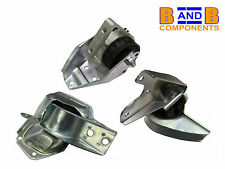 SMART FORTWO 42 450 CABRIO ROADSTER CITY ENGINE MOUNT SET METZGER FEBI A763