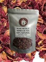 Red Rose Petals Herbal Tea - 100 % Natural
