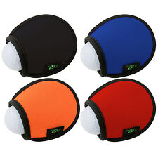 GREEN GO POCKET GOLF BALL WASHER - 2 PACK - MULTIPLE COLOURS AVAILABLE