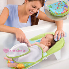 BABY Infant Newborn BATH Bed TUB HEAD SUPPORT SEAT Foldable SAFETY SEA World