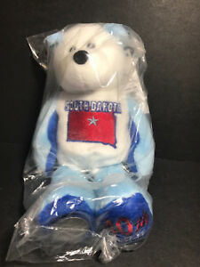 NEW Limited Treasures SOUTH DAKOTA State Quarter Coin Bear w/Tags RETIRED 2006
