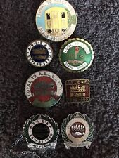 More details for aslef associated society of locomotive engineers and firemen union badges joblot
