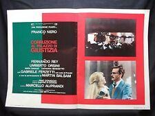 FOTOBUSTA CINEMA - CORRUZIONE AL PALAZZO DI GIUSTIZIA - FRANCO NERO - 1975 - 13