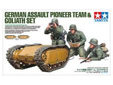 1/35 Tamiya German Assault Pioneer Team & Goliath Set #35357