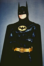 Michael Keaton iconic in Batsuit Batman 11x17 Mini Poster