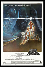 STAR WARS ☆ 20th Century-Fox Style A 27x41 Movie Poster ☆ 1977 MINT ROLLED MUST!