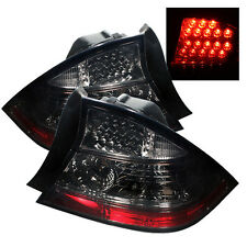 Pair LED Smoke Lens Tail Lights Lamps 2 Door for Honda Civic 04-05 1 Yr Warranty