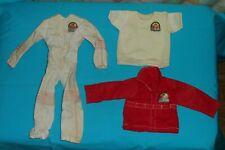 vintage Six Million Dollar Man STEVE AUSTIN CLOTHES LOT shirt Mission to Mars ++