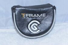 NEW Cleveland T Frame putter mallet black/white men's headcover head cover
