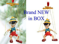 Disney Store Sketchbook Ornament Pinocchio no Strings attatched BRAND NEW IN BOX