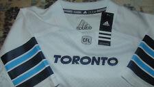 Toronto Argonauts CFL Adidas Jersey New Mens size Small White