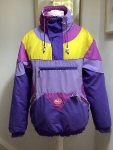 """Vintage Retro Les Coulers De L'action Style France Ski Jacket 48"""" S / M"""