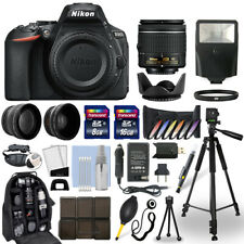 Nikon D5600 DSLR Camera + 18-55mm VR NIKKOR Lens + 24GB Multi Accessory Bundle