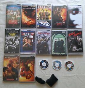 15 x Stück PSP UMD Filme Sammlung Playstation Portable