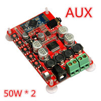 TDA7492P AUX 50W*2 Wireless Bluetooth 4.0 Audio Receiver Digital Amplifier Board