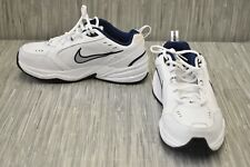 Nike Air Monarch IV 416355-102 Athletic Shoes, Men's Size 9.5 W, White