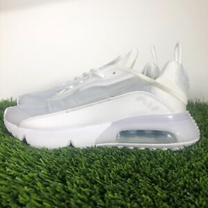 Nike Air Max 2090 Running Shoes White Wolf Gray Platinum BV9977-100 Mens Sizes