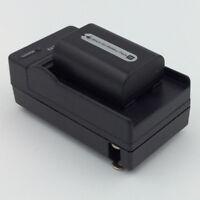 Cargador de batería Sony NP-FF50 NP-FF70 NP-FF71 DCR-PC109 DCR-PC350E DCR-PC350