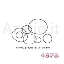 Guarnizioni O-RING 100 pz ø 15 - 30 mm mix orologi watch orologiaio Gasket round