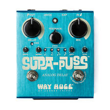 Way Huge WHE707 Supa-Puss Analog Tap Tempo Delay Guitar Effect Pedal - New