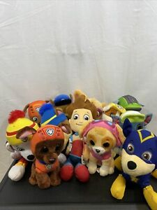 """Paw Patrol Spinmaster & TY Plush Lot Of 12 Puppy Characters Toy 6"""""""