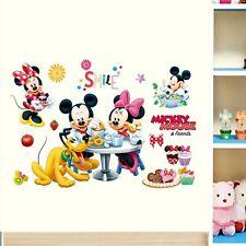 Wandaufkleber Kinderzimmer Junge Mädchen Minnie Maus Schlafzimmer Wandsticker